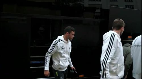Jonas Hector - Ankunft in Paris