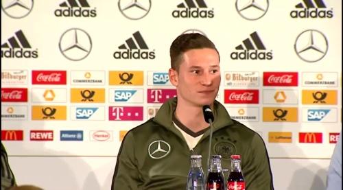 Julian Draxler - Press Conference 1