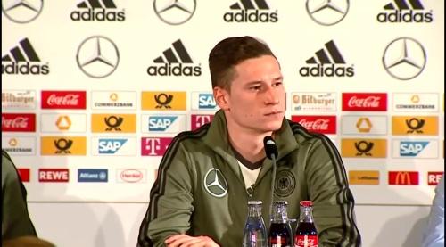 Julian Draxler - Press Conference 2