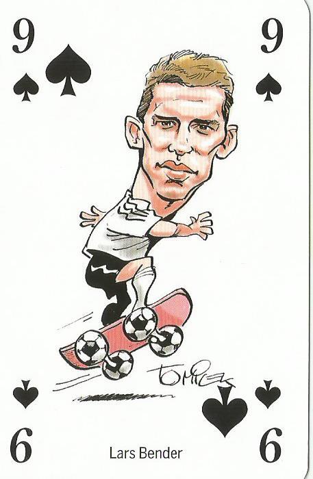 Lars Bender - playing card