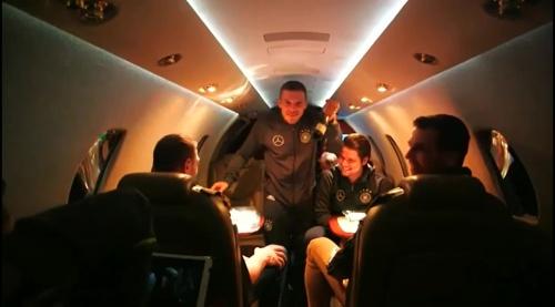 Lukas Podolski – Trikot Launch in Berlin 2