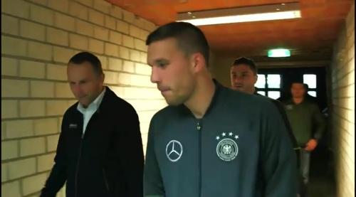 Lukas Podolski – Trikot Launch in Berlin 4