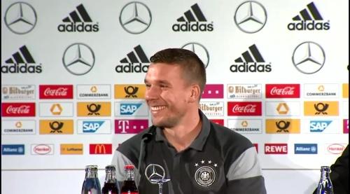 Lukas Podolski - Press conference 5