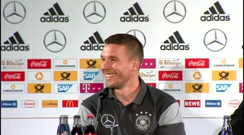 Lukas Podolski - Press conference 5