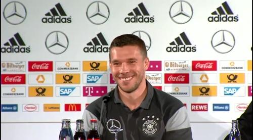 Lukas Podolski - Press conference 6