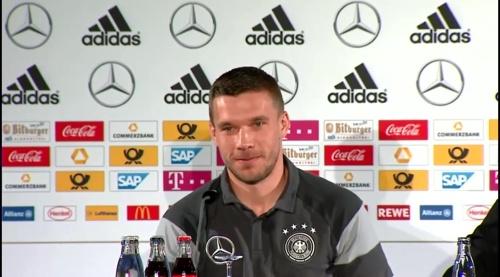 Lukas Podolski - Press conference 7
