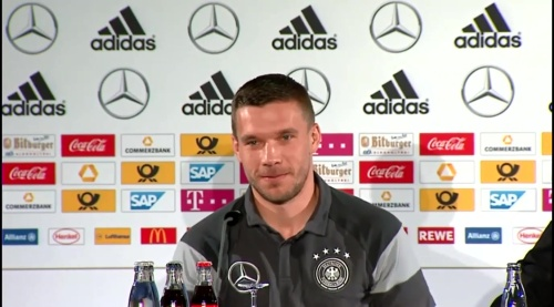Lukas Podolski - Press conference 7