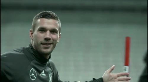 Lukas Podolski - training 1