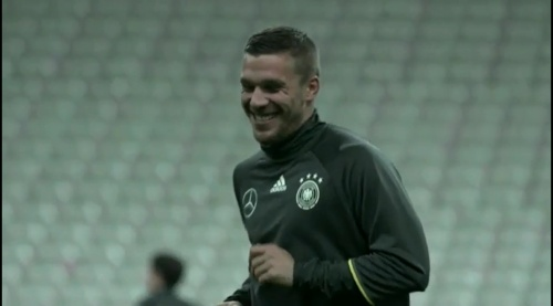 Lukas Podolski - training 2