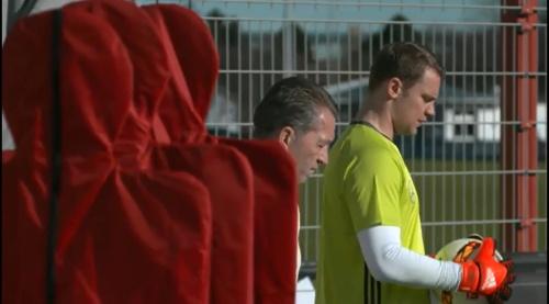 Manuel Neuer – Training in München 1