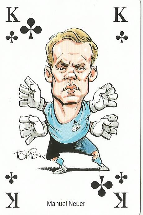 Manuel Neuer - playing card