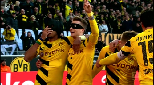 Marco Reus and Pierre-Emerick Aubameyang - Batman and Robin