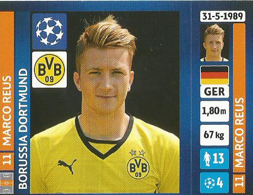 Marco Reus – Borussia Dortmund – CL 2013-14