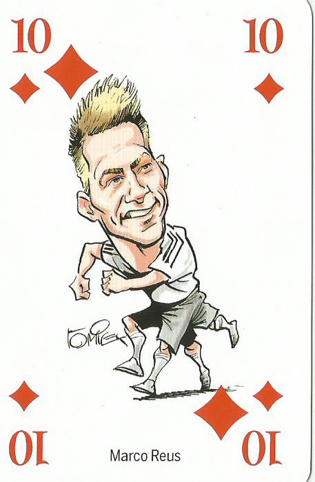 Marco Reus - playing card