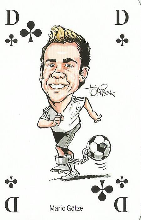 Mario Götze - playing card
