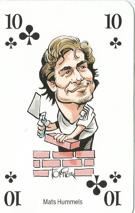 Mats Hummels - playing card