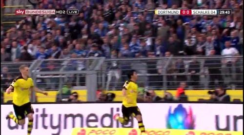 Matthias Ginter - BVB v S04 1