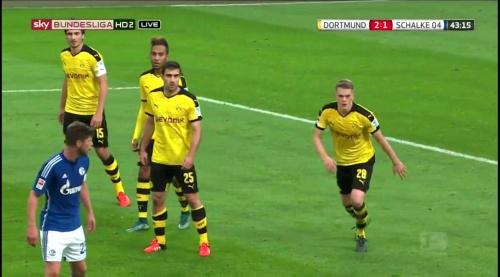 Matthias Ginter - BVB v S04 22