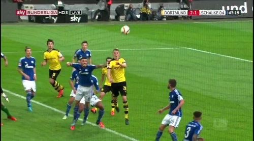Matthias Ginter - BVB v S04 23