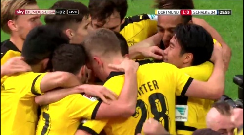 Matthias Ginter - BVB v S04 7
