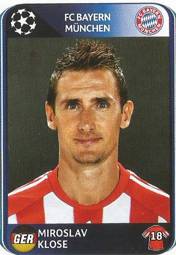 Miroslav Klose – FC Bayern München – CL 2010-11
