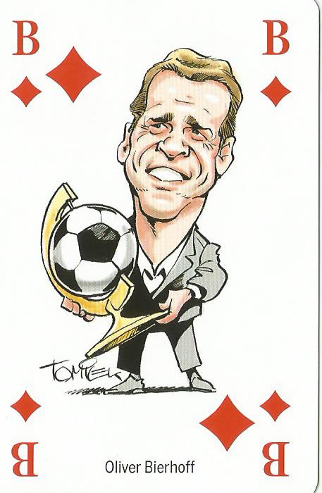 Oliver Bierhoff - playing card