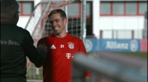 Philipp Lahm – Training in München 1