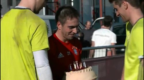 Philipp Lahm & Thomas Müller – Training in München 1
