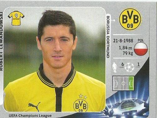 Robert Lewandowski – Borussia Dortmund – CL 2012-13