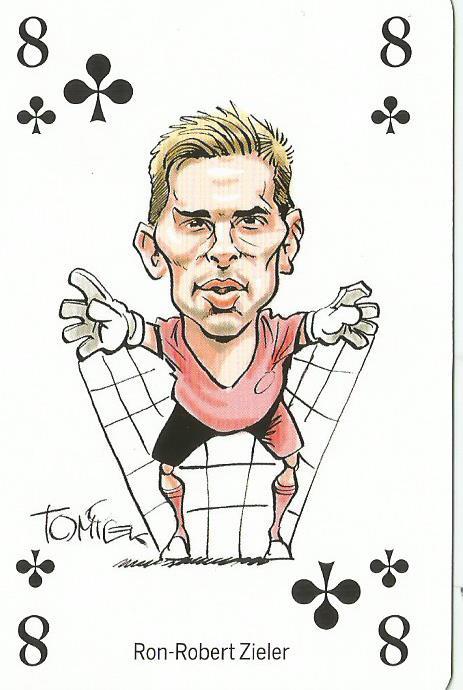 Ron Robert Zieler - playing card