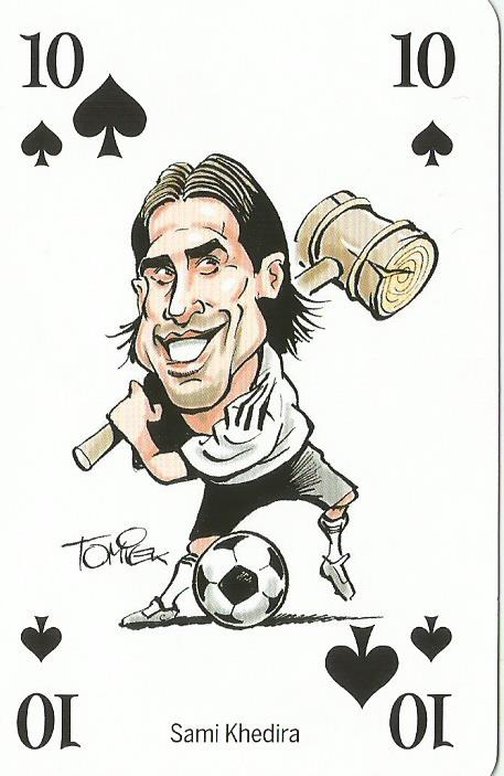 Sami Khedira - playing card
