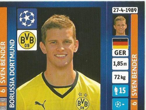 Sven Bender – Borussia Dortmund – CL 2013-14