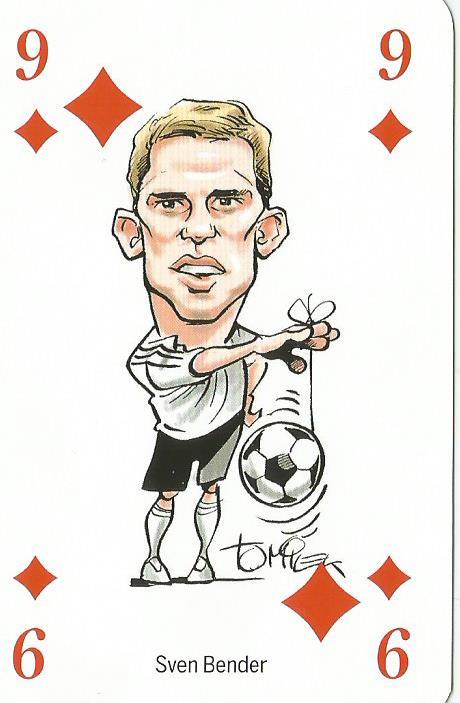 Sven Bender - playing card