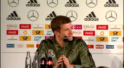 Thomas Müller – Press Conference 1