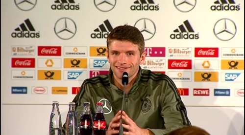 Thomas Müller – Press Conference 4