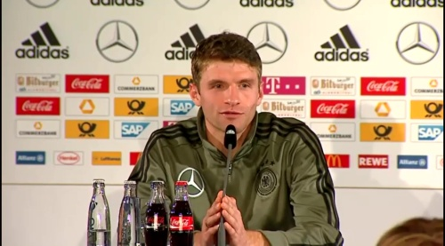 Thomas Müller – Press Conference 7