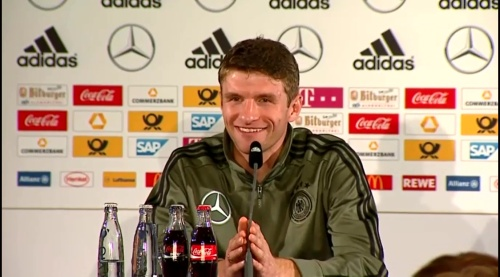 Thomas Müller – Press Conference 8