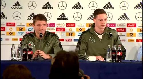 Thomas Müller & Julian Draxler – Press Conference 2