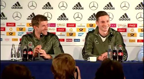 Thomas Müller & Julian Draxler – Press Conference 4
