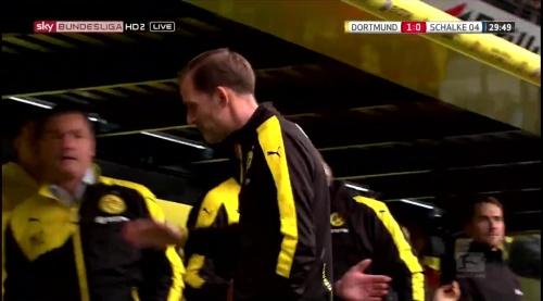 Thomas Tuchel - BVB v S04 10
