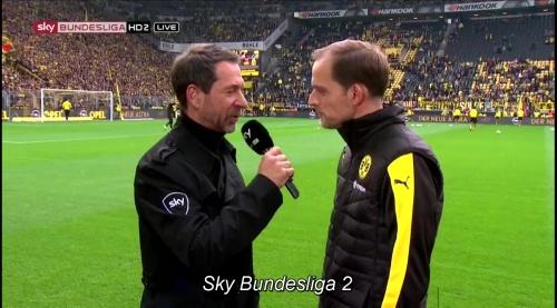 Thomas Tuchel - BVB v S04 2