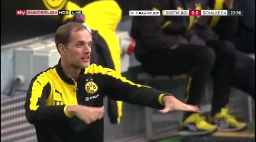 Thomas Tuchel - BVB v S04 9