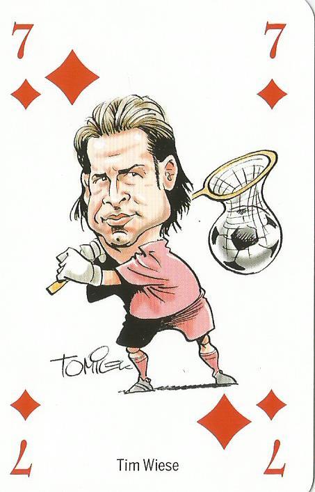 Tim Wiese - playing card