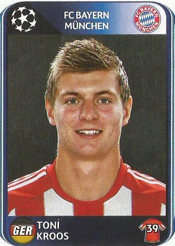 Toni Kroos – FC Bayern München – CL 2010-11