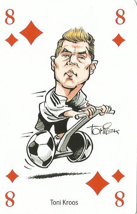 Toni Kroos - playing card
