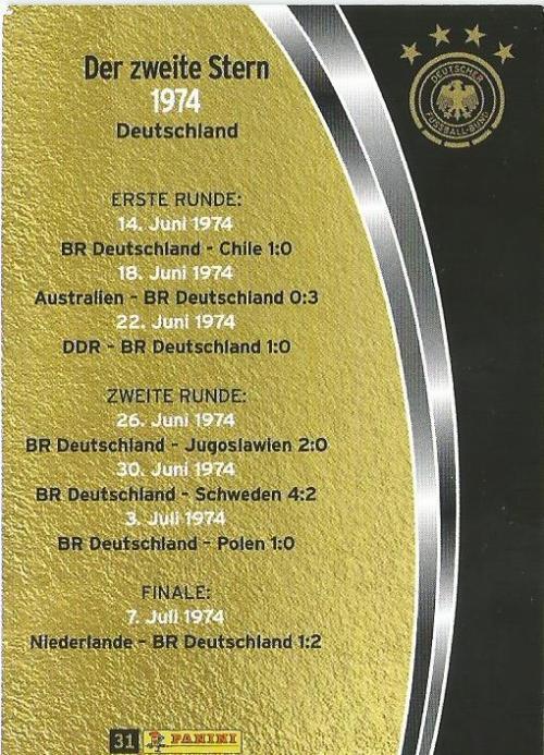 1974 - DFB 2015-16 card 2