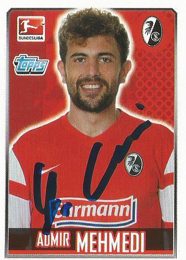 Admir Mehmedi – SC Freiburg 2014-15 signed sticker