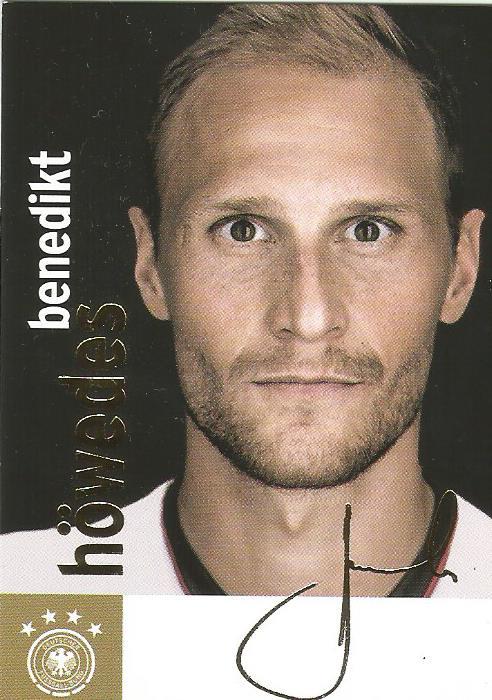 Benedikt Höwedes - DFB card 2015-16 1