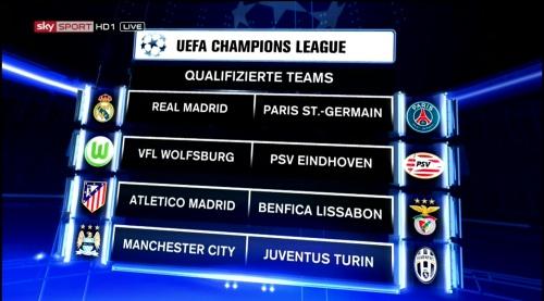 Champions League 2015-16 - last 16 1