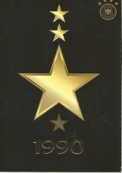 Der dritte Stern 1990 - DFB card 2015-16 1